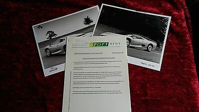 Jaguar Sport XJ220 press release. 1989.