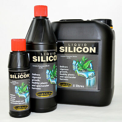Growth Technology Liquid Silicon 250ML 1L And 5L Additive Strengthen Plant