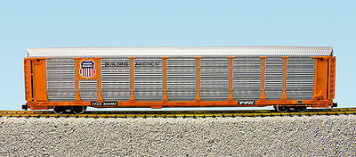 USA Trains G Scale BI LEVEL AUTO CARRIER R17173 Union Pacific yellow