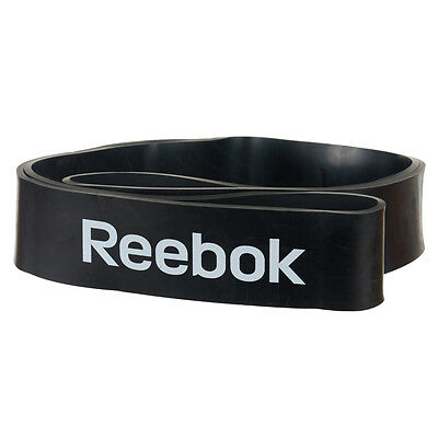 REEBOK Power Band Extra Strong RSTB-10082 Black Highly Durable Workout Rubber