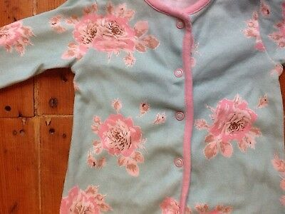 John Lewis Set of 2 Cotton Jersey Baby Grows Age 0- 6 Mths