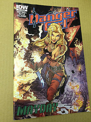 IDW comics: DANGER GIRL : MAYDAY # 2 , Sub cover