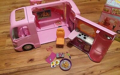 Rare - Barbie Glamour Camper With Accessories As Seen BOXED 2008 VAN