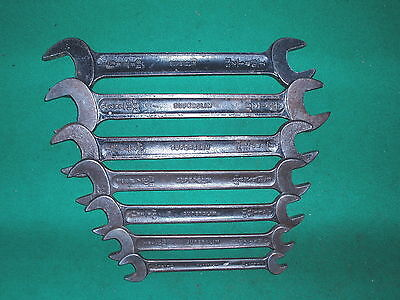 Classic Toolkit Tw Superslim Whitworth / Bsf Spanner / Wrench Set 1/8 To 9/16W