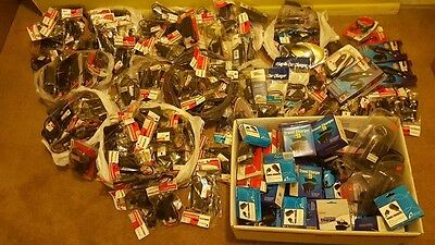 Huge Lot Of 200 Different Cell Phones Chargers,car Adapters,accessories-Most New