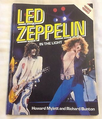 Rare Led Zeppelin In The Light 1968-1980 Book Collectable Jimmy Page