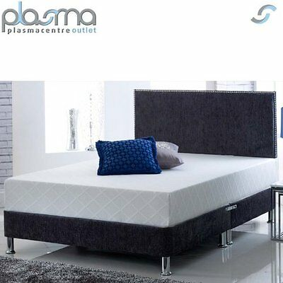 Ultimum CoolBlue Memory King Medium Mattress + Pillow 2FT6 3FT 4FT 4FT6 5FT 6FT
