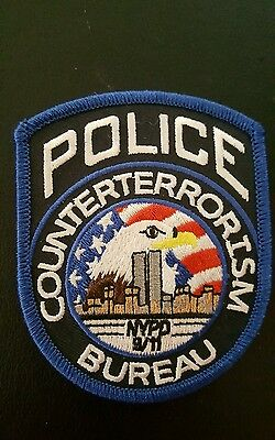 Nypd Counter Terrorism Patch