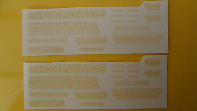 Mabex Pickfords transfers/decals x 10 pair, lorry/truck/code 3