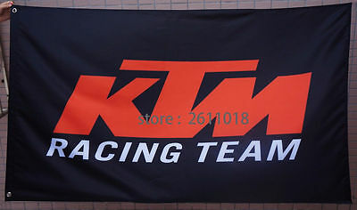 car flag racing banner flags BLACK 3x5FT free shipping for KTM  Flag 2-1