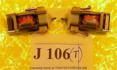 j106 jouef ho spare 2x 3-pole open frame wkng loco motors no worms apps unknown
