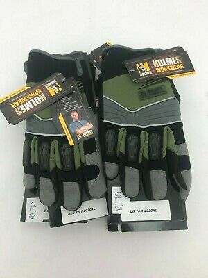Holmes Work Wear Work Gloves Sz XL