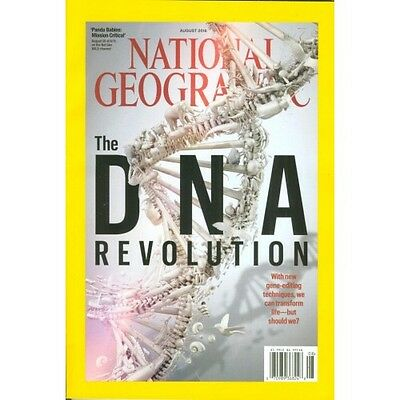 National Geographic Magazine The DNA Revolution August 2016