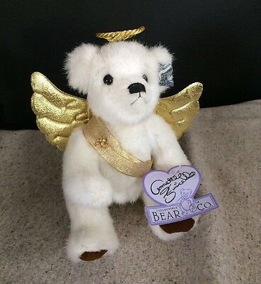 Annette Funicello Collectible Bear, Angel Collection Jill, plush 8' Bear
