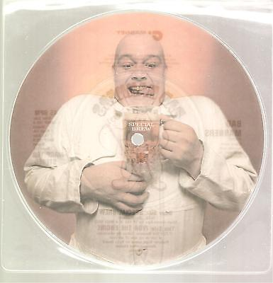 """BAD MANNERS """"Special Brew"""" 2 Track Picture 7"""" Vinyl Single"""