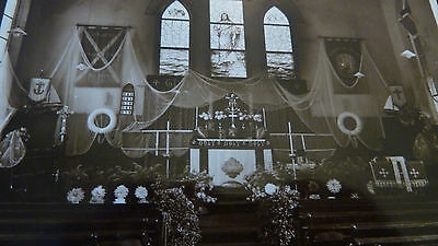 Old Rp Postcard Interior Of Fishermens Church Hastings