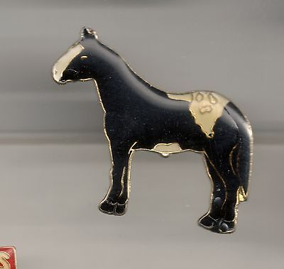 Vintage Appaloosa Horse large old enamel pin