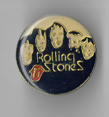 Vintage Rolling Stones Music Group old enamel pin
