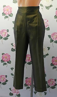 Romeo Gigli Vintage High Waisted Shimmer Trousers