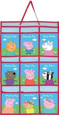Peppa Pig Hanging Door Organiser