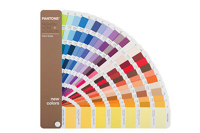 Pantone Fashion, Home + Interiors Colour Guide Supplement. Shows 210 new colours