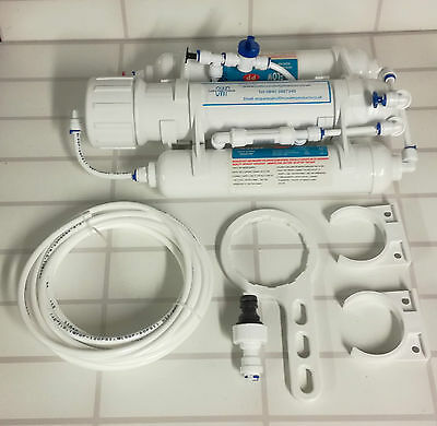 SC5 50gpd 3 STAGE  REVERSE OSMOSIS WATER FILTER FOR USE IN AQUARIUMS / PLANTS
