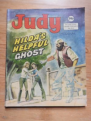 Judy Picture Story Library #213 - Hilda's Helpful Ghost VG+
