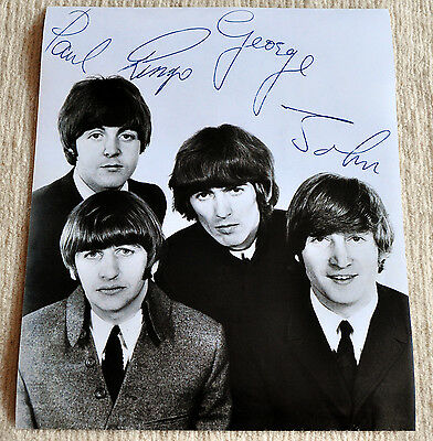 The Beatles poster Beatles promo poster '65 period RaRe