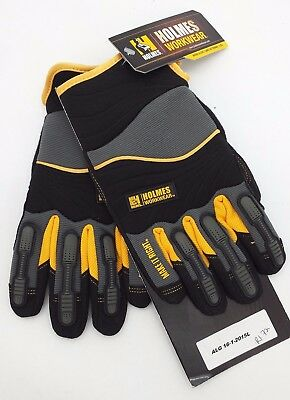 Holmes Work Wear Gloves Sz Large