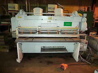 "Cincinnati Model 1406, 6' X 1/4"" Mechanical Shear w/ 6' Sq. Arm & 24"" BOBG"