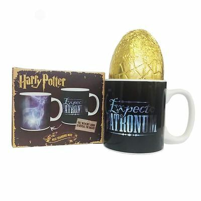 Harry Potter Expecto Patronum Heat Changing Mug & Easter Egg