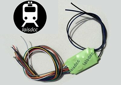 DCC Decoder 4 function OO HO N scale Laisdcc New £10 each for 3+.