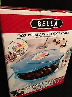 New In Box-Bella Cake Pop and Donut Hole Maker