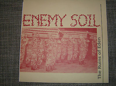 Enemy Soil - The Ruins Of Eden 10 inch MLP, RARE, Napalm Death, Terrorizer