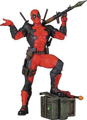 Deadpool 1:8 Scale Collector's Gallery Statue (2016) Marvel Gentle Giant New