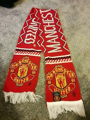 Official Manchester United FC Scarf