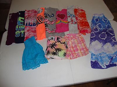 Lot Of Girls Justice Brand Clothes Size 6 Great For Spring Summer