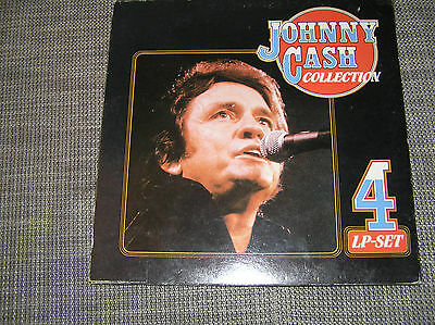 Johnny Cash - 4LP Collection, Nelson, Dylan, George Jones, Neil Young