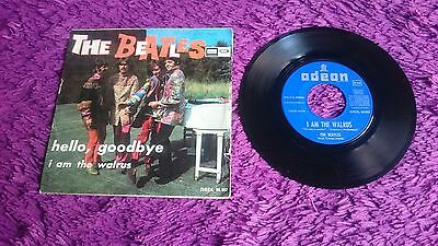 "The Beatles ‎– Hello, Goodbye ,  Vinyl, 7"", 1967 , Spain , DSOL 66.082"