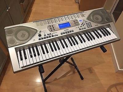 Casio CTK 900 Keyboard With Proel Adjustable Stand