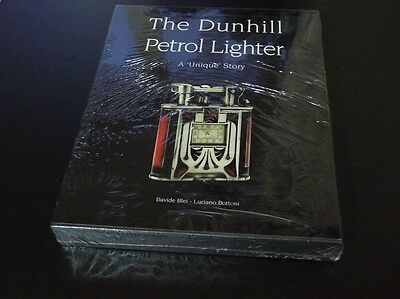 "THE DUNHILL PETROL LIGHTER ""A Unique Story"" - Brand New- Sealed with Slipcase"