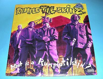 Rumpletilskinz - What Is A Rumpletilskin? - USA Import LP 1993 part polywrapped.
