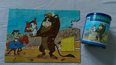 Vintage Droopy Jigsaw puzzle. 1972. MGM INC. Rare