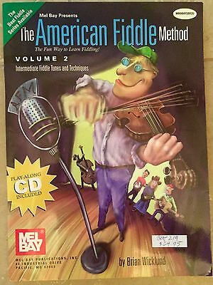 The American Fiddle Method - Intermediate Fiddle Tunes and Techniques Vol. 2