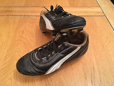 Puma Kids Football Boots, Metal Studs Size 2