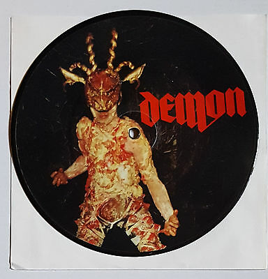 "Demon ‎– One Helluva Night / Into The Nightmare 7"" Pic Disc"