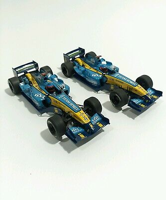 2 Scalextric F1 Renault