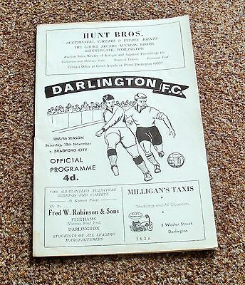 FOOTBALL PROGRAMME- LIVERPOOL v LINCOLN (Division Four- 13th November 1965)