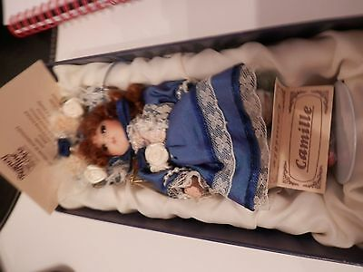 Regency Victorian Style Porcelain Doll Limited Edition Camille