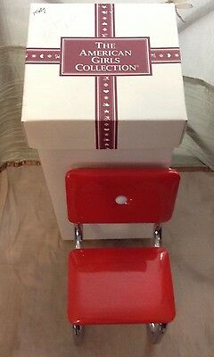 American Girl Pleasant Company Molly Red Chair with box